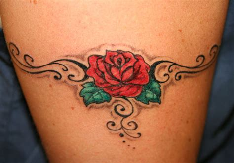 rose band tattoo 26 beautiful traditional designs creativefan