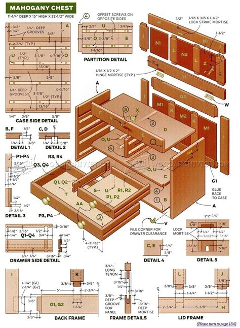 drawer plans woodworking small chest of drawers plans woodarchivist