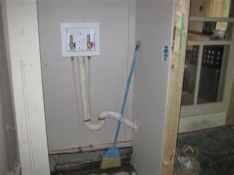 laundry plumbing layout laundry room plumbing rough in