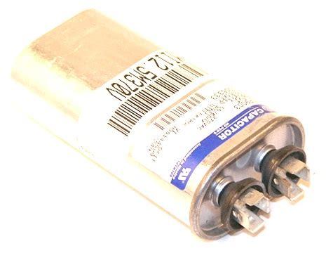 trane ac parts capacitor trane cpt0255 12 5 mfd 370v oval capacitor