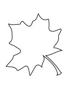 autumn leaf stencil clipart best