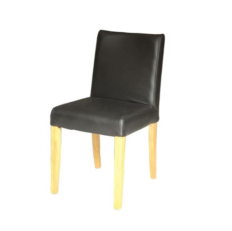 Dining Chair Melbourne Melbourne Leather Dining Chair Black Urbano Interiors