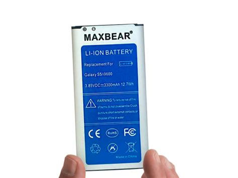 samsung battery 3300 mah best samsung galaxy s5 replacement battery extended capacity test