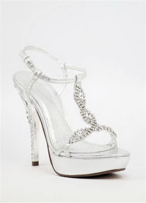 silver high heels prom silver high heels for prom