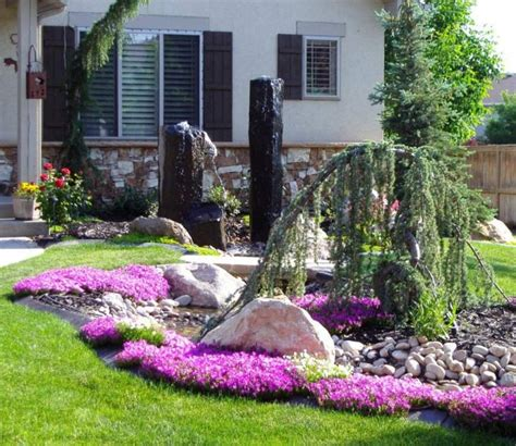Ideas For Small Front Gardens Quelques Id 233 Es D Am 233 Nagement Paysager Devant Maison