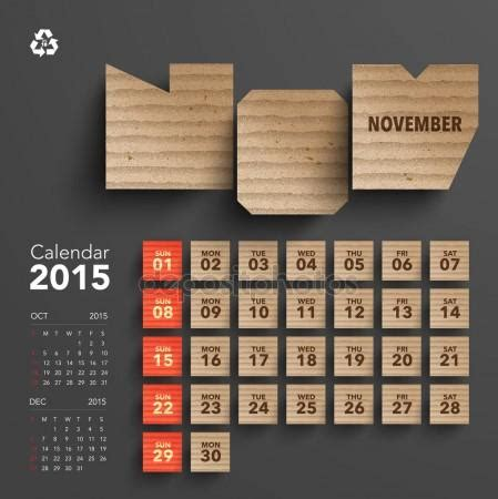calendar design november november stock photos illustrations and vector art