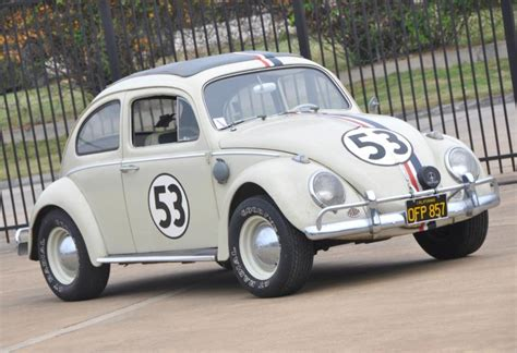 volkswagen beetle classic herbie herbie the love bug fetches 86k at auction ny daily news