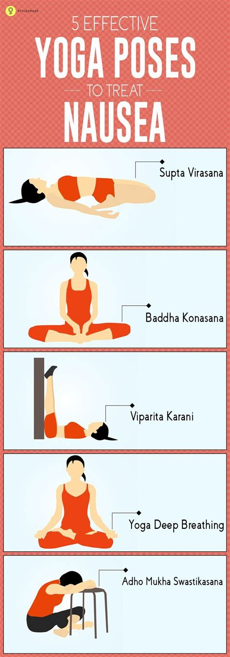 asanas to get rid of nausea in effective way poses toilets and morning sickness
