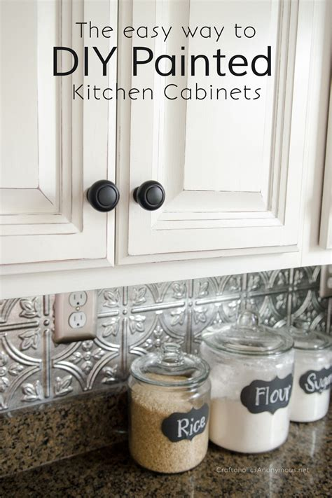 diy white kitchen cabinets craftaholics anonymous 174 how to paint kitchen cabinets