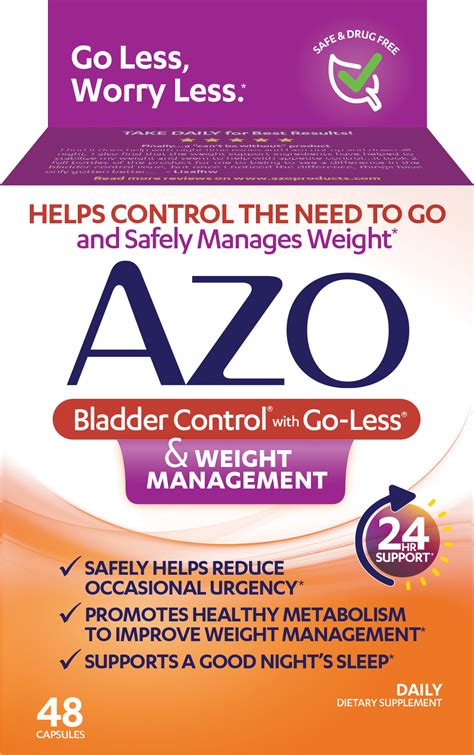 and weight management azo bladder 174 supplement for weight management