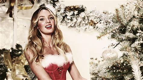 victorias secret models merry christmas   victorias secret angels