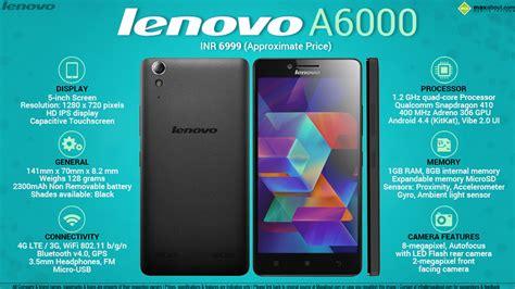 Ic Hp Lenovo A6000 facts lenovo a6000