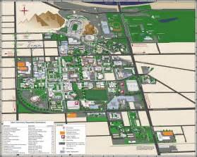 Arizona Campus Map by Amuc 04 Asu Campus Map