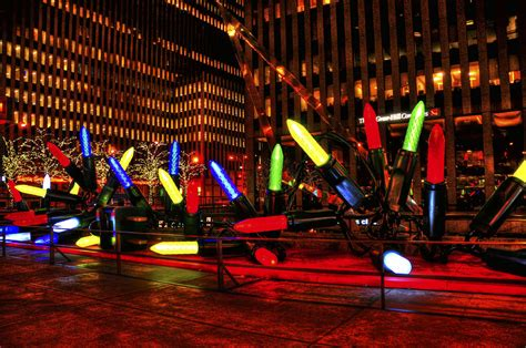 giant nyc christmas lights by randy aveille