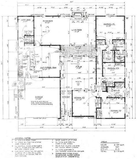 26 best eichler floor plans images on modern