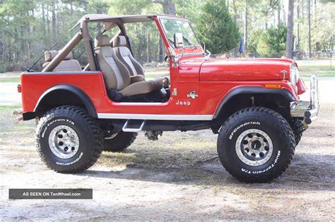 Jeep Sj7 1981 Jeep Cj7