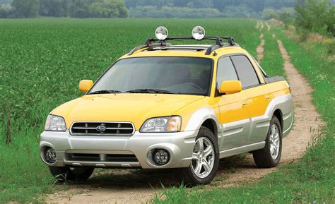 subaru baja road subaru baja road test reviews car and driver