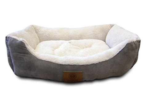 american kennel club dog beds american kennel club suede cuddler solid pet bed large