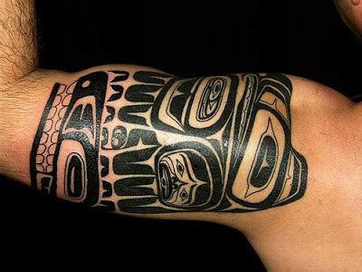 tribal totem pole tattoo designs pictures designs haida totem pole