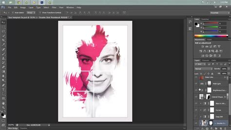 makeup psd templates for photoshop photoshop tutorial abstract face download psd youtube