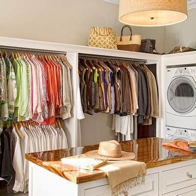 Laundry Room Table For Folding Clothes Laundry Room With Hanging Space And Table For Folding Clothes Laundry Rooms