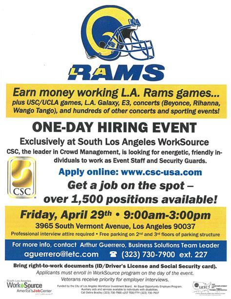 rams hiring rams hiring event canndu