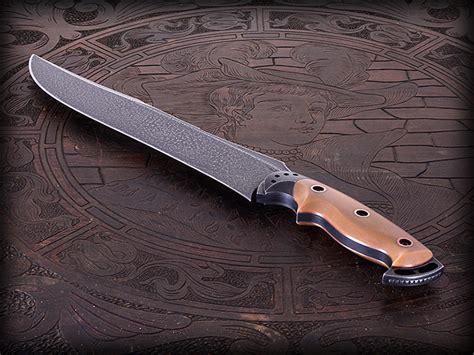 custom bowie knives custom bowie knife 282