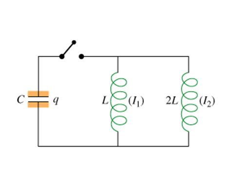 two inductors in parallel a capacitor with capacitance is connected in paral chegg