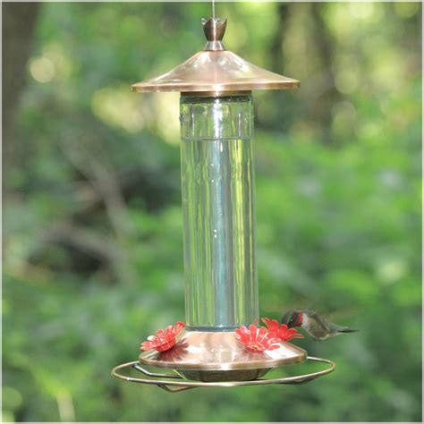 Dining Room Bar Furniture by Brushed Metal Hummingbird Feeder Bird Feeders At Hayneedle