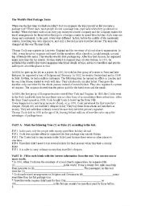 reading comprehension tests pre intermediate reading worksheets for pre intermediate photoaltan22