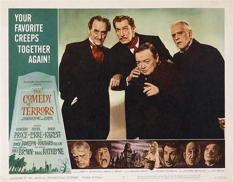 Film Comedy Of Terrors | comedy of terrors the