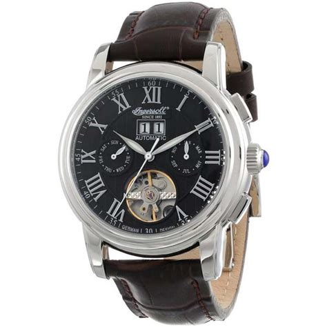 Jam Tangan Quicksilver Number Daydate Leather Brown ingersoll since 1892 douglas automatic leather in8012bk s watchain