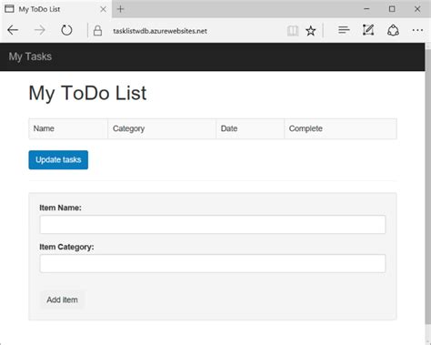 tutorial net web application build a node js web app for azure cosmos db microsoft docs