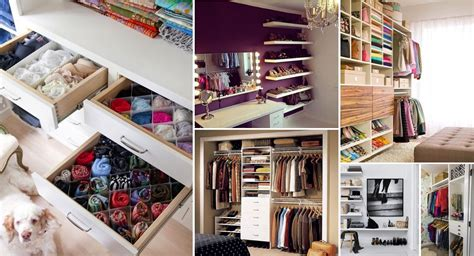 Simplify Your Closet by 20 Storage Hacks That Will Help You Organize Your Closet