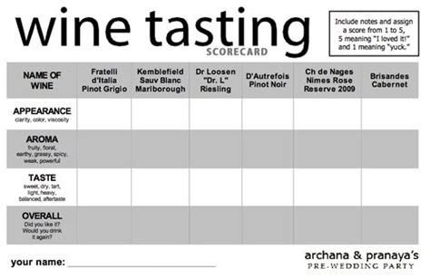 wine tasting cards templates pin by dossman on wine education