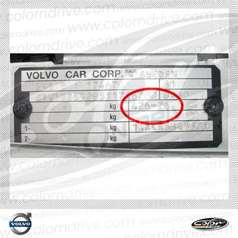 volvo s60 touch up paint color n drive