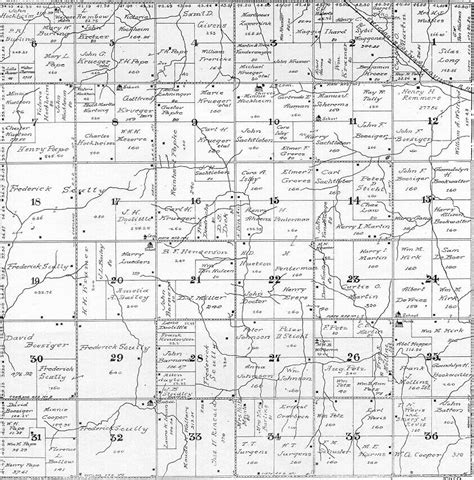 plat maps 1922 gage co ne atlas plat map