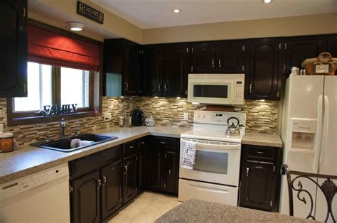 Cherry Kitchen Cabinets With Oak Staining Oak Cabinets Cherry Deductour Com