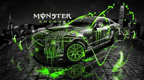 ford mustang rtr monster energy drift race racing
