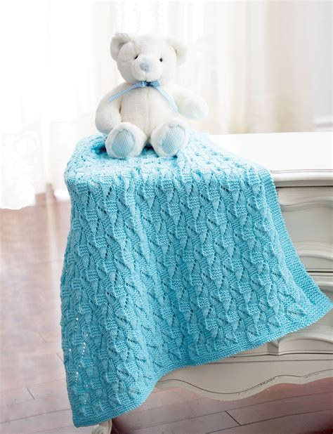 Squares Baby Blanket by Staggered Squares Blanket Patterns Yarnspirations