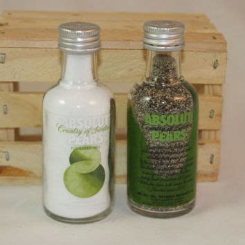 Absolut Pears Decor by Absolut Pears Salt Pepper Shakers From Country Rich Design