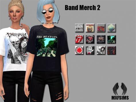 house band merch band merch 2 tees at mxfsims 187 sims 4 updates
