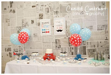 newspaper themed birthday happy birthday cyrus 1st birthday party candid
