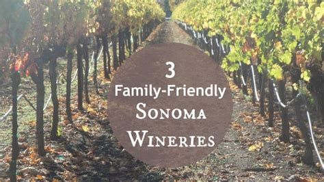 friendly wineries things to do in sonoma kid friendly wineries voyage