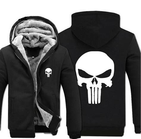 Sweater Hoodie The Puniser Best Clothing 2018 wholesale anime skull the punisher hoodies 2017