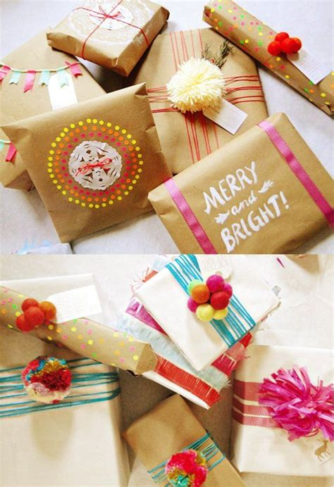 Apartment Therapy Gift Wrapping 30 Gift Wrap Ideas Wraps And