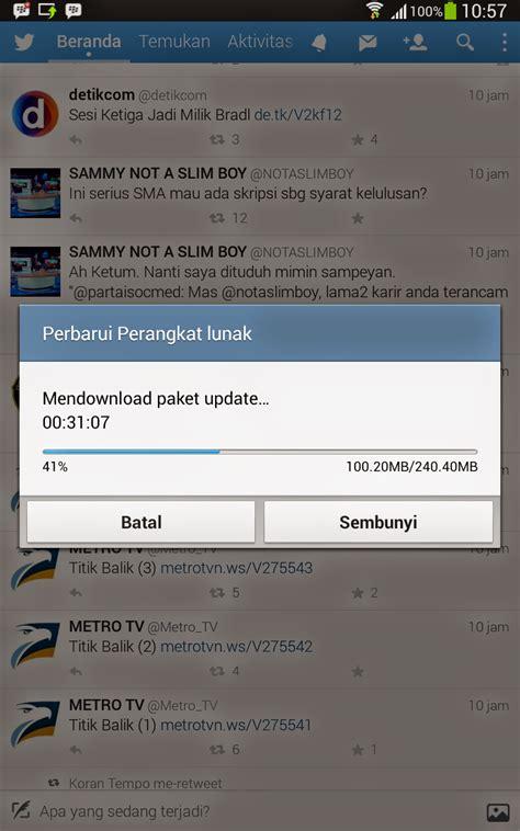 cara update e faktur versi terbaru cara update os android terbaru di smartphone dan tablet