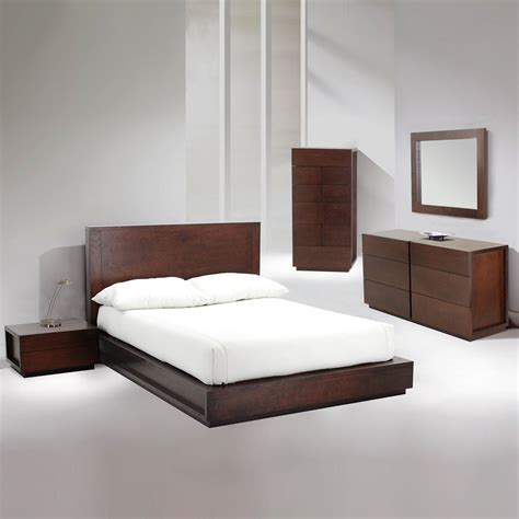 King Platform Bed Set Ariana Platform Bed Bedroom Set Beaver King Bedroom Sets