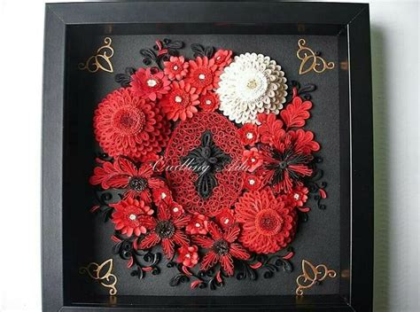 paper quilling wall frames tutorial 89 best images about paper quilling wall frames on