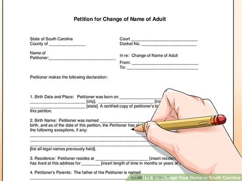 Sled Background Check Form 4 Ways To Change Your Name In South Carolina Wikihow